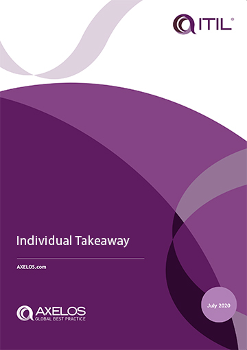 ITIL4 DITS Individual Takeaways